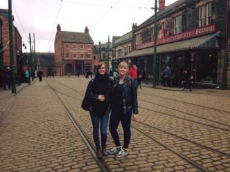 Me and Laura at Beamish recently