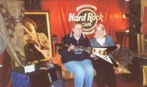 Meagan & Helen Hard Rock Cafe