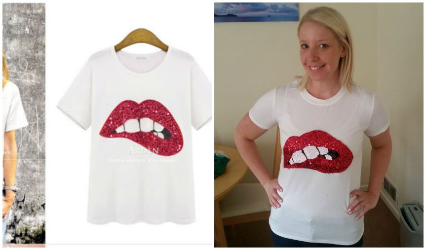 Lipsshirt