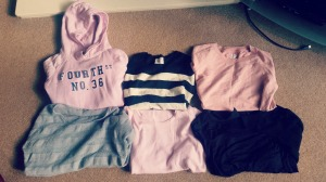 Jumpers from H&M, New Look, Atmosphere, C&A and George