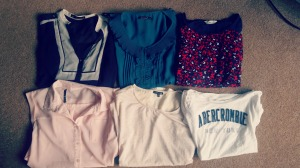 Tops from Next, Atmosphere, Autograph, Warehouse and Abercrombie