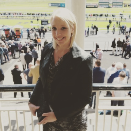 A rare day off work at the races