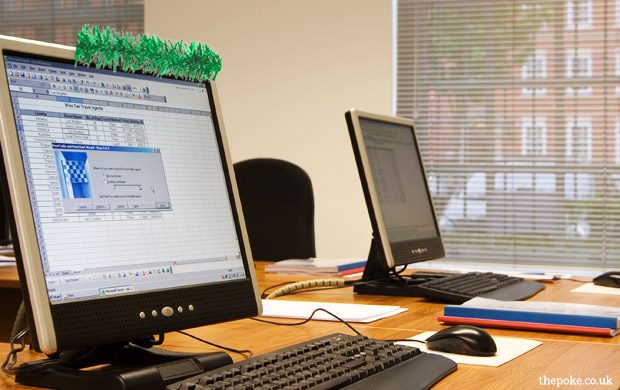 8 problems with Christmas in anoffice