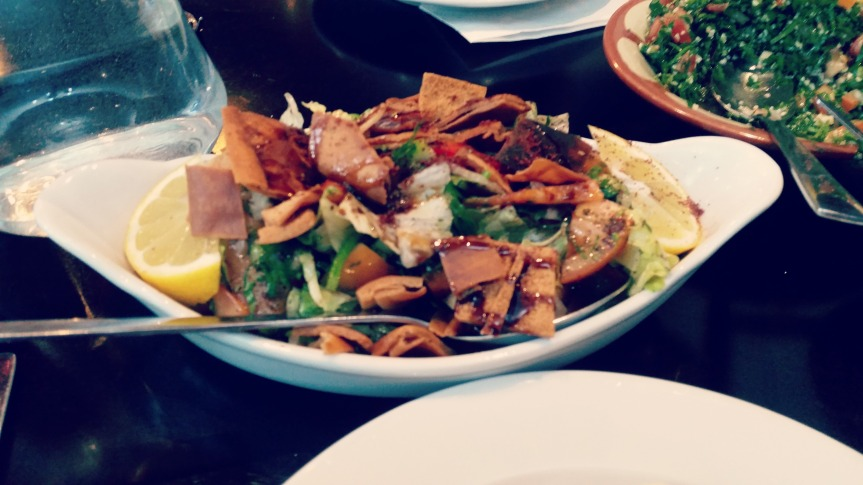 Review: Fattoush, Newcastle uponTyne