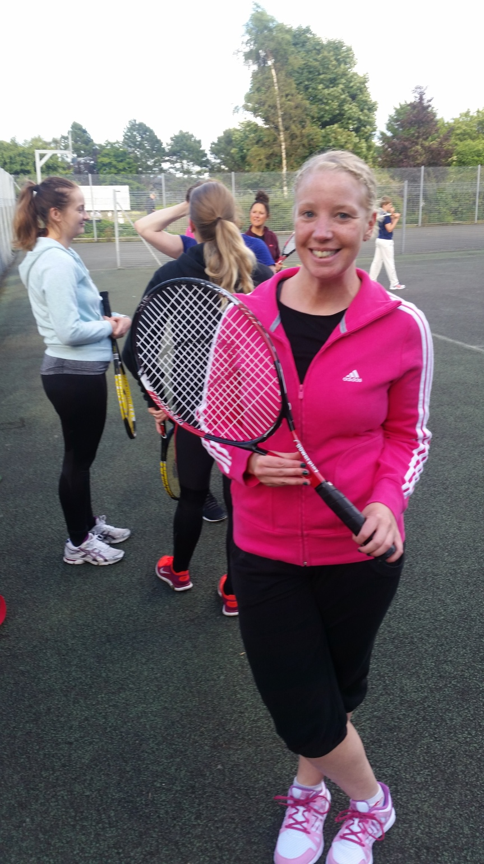 Anyone for Active Cardio Tennis?