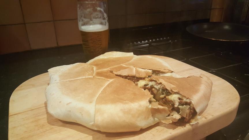 Newman's Mexican Burrito PieRecipe