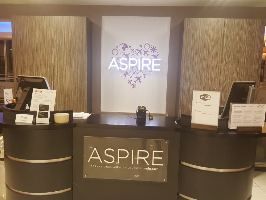 Aspire Lounge, Manchester terminal 1