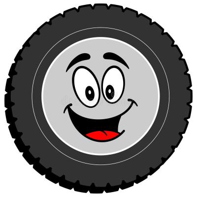 tire-cartoon-vector-illustration-81993625